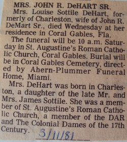 Louise <I>Sottile</I> DeHart