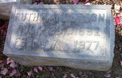 Ruth Elizabeth <I>Pontius</I> Anderson