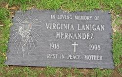 Virginia M. <I>Lanigan</I> Hernandez