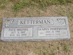 Gladys <I>Fleetwood</I> Ketterman