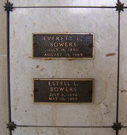 Estell Laura <I>Engers</I> Bowers