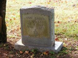 Ann <I>Spann</I> Chavez