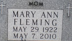 Mary Ann Fleming