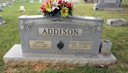 Ethel <I>Shadoan</I> Addison