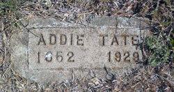 Addie <I>Tate</I> Cox