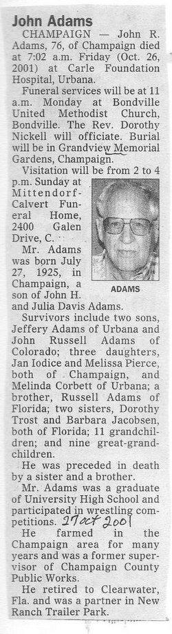 John Roe Adams