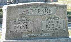 Laura Bell <I>Frazier</I> Anderson