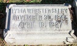 Lydia <I>Webster</I> Selby
