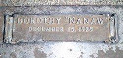 "Dorothy ""Nanaw"" Smith"