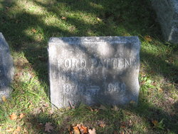 Ford No Known Middle Name Patten