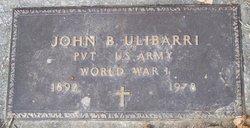 John B Ulibarri
