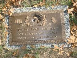 Betty Jane <I>Germany</I> Fuhrer