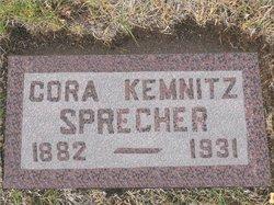 Cora E <I>Kemnitz</I> Specher