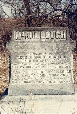 Janet <I>Thompson</I> McCullough