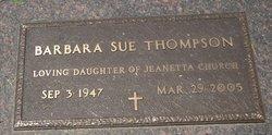 Barbara Sue Thompson