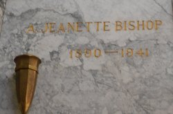 A Jeanette Bishop