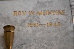 Roy W McIntire