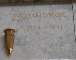 William Douglass Nicol