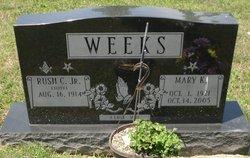 Mary Kathryn <I>McClelland</I> Weeks