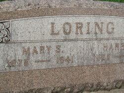 Mary Sophia <I>Johnson</I> Loring