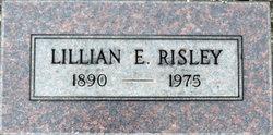 Lillian Edna <I>Eubank</I> Risley