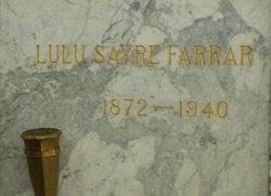 Lulu <I>Sayre</I> Farrar