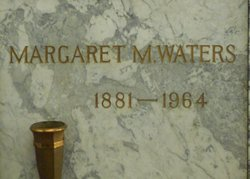 Margaret A Waters