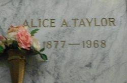 Alice A Taylor