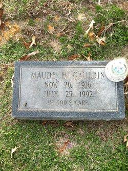 Maude H. Gauldin