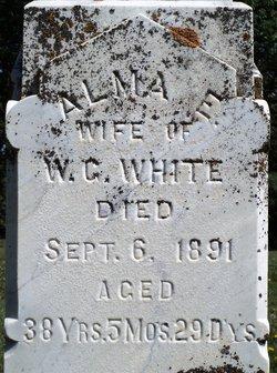 Alma Elizabeth <I>Gordon</I> White