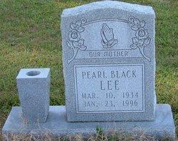 Pearl <I>Black</I> Lee