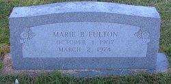 Marie B <I>Burgess</I> Fulton