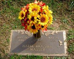 Hazel Irene <I>Riggsbee</I> Massey
