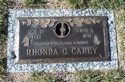 Rhonda G. Carey