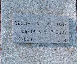 Ozelia B Williams