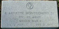 B Arnett Montgomery