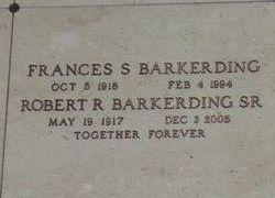 Frances S. Barkerding