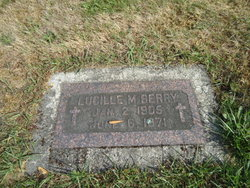 """Lucille M """"Lucey"""" Berry"""