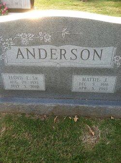 Mattie J. Anderson