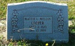 Mattie L <I>Mouzon</I> Cooper