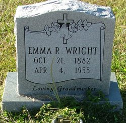 Emma <I>Richardson</I> Wright