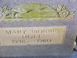 """Mary """"Bonnie"""" Holt"""