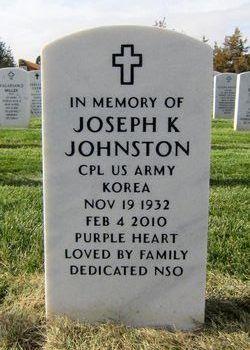 Joseph K Johnston