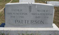 Martha M. <I>Royse</I> Patterson