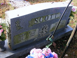 Addie Ruth <I>Putnum</I> Scott