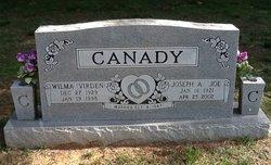 "Joseph A ""Joe"" Canady"