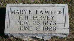 Mary Ella <I>Patterson</I> Harvey