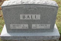 Mary L Ball