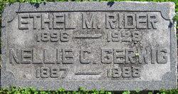 Ethel M <I>Gerwig</I> Rider