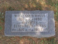 William D Kelly
